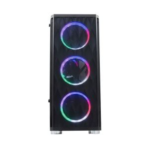 RAMPAGE X-HORSE 600W 80 PLUS BRONZE 4x120mm RAINBOW FAN USB 3.0 MidT ATX KASA