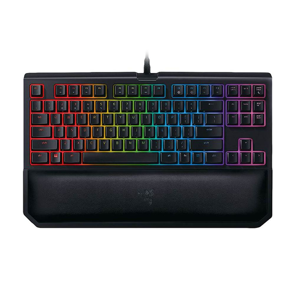 RAZER BLACKWIDOW TE CHROMA V2 YELLOW SWITCH