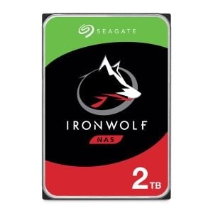 "Seagate IRONWOLF 3.5"" 2TB Sata 3.0 64MB Cache 5900RPM NAS Harddisk"
