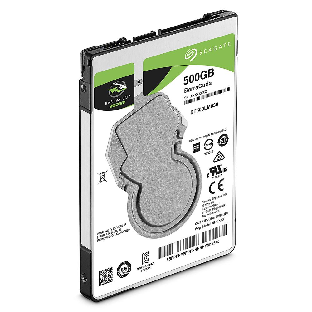 "Seagate 2.5"" 500GB Barracuda Sata 3.0 128MB Cache 5400Rpm Notebook Disk"