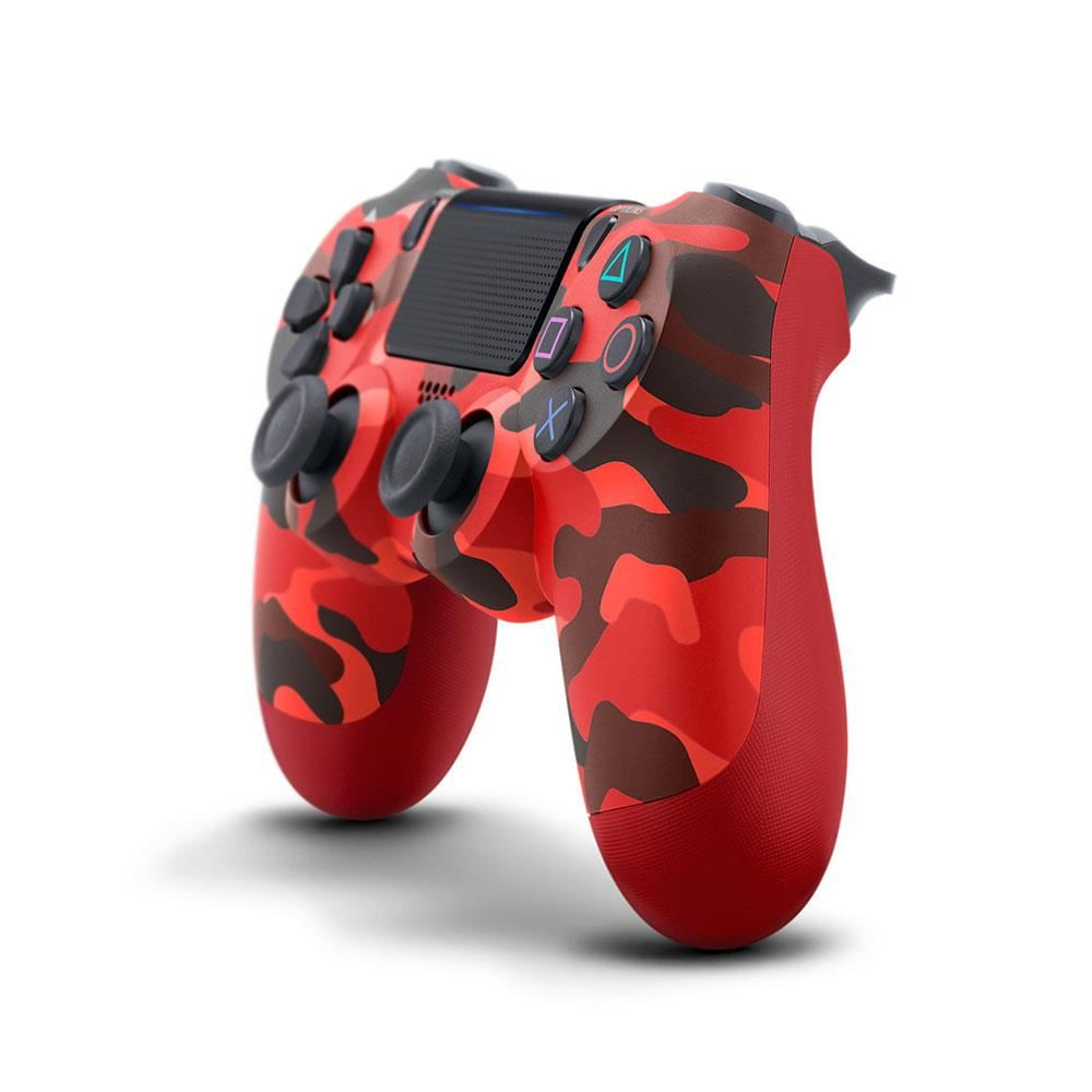 SONY PS4 Dualshock 4 Controller Red Camouflage
