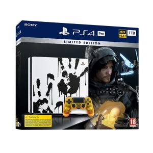 SONY Death Stranding / PS4 Pro 1 TB Chassis EUR Black OYUN KONSOLU