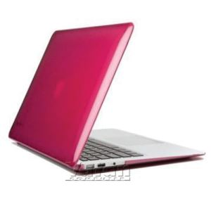 16921 SEETHRU 11'' MACBOOK AİR SERT KILIF- (FRAMBUAZ)
