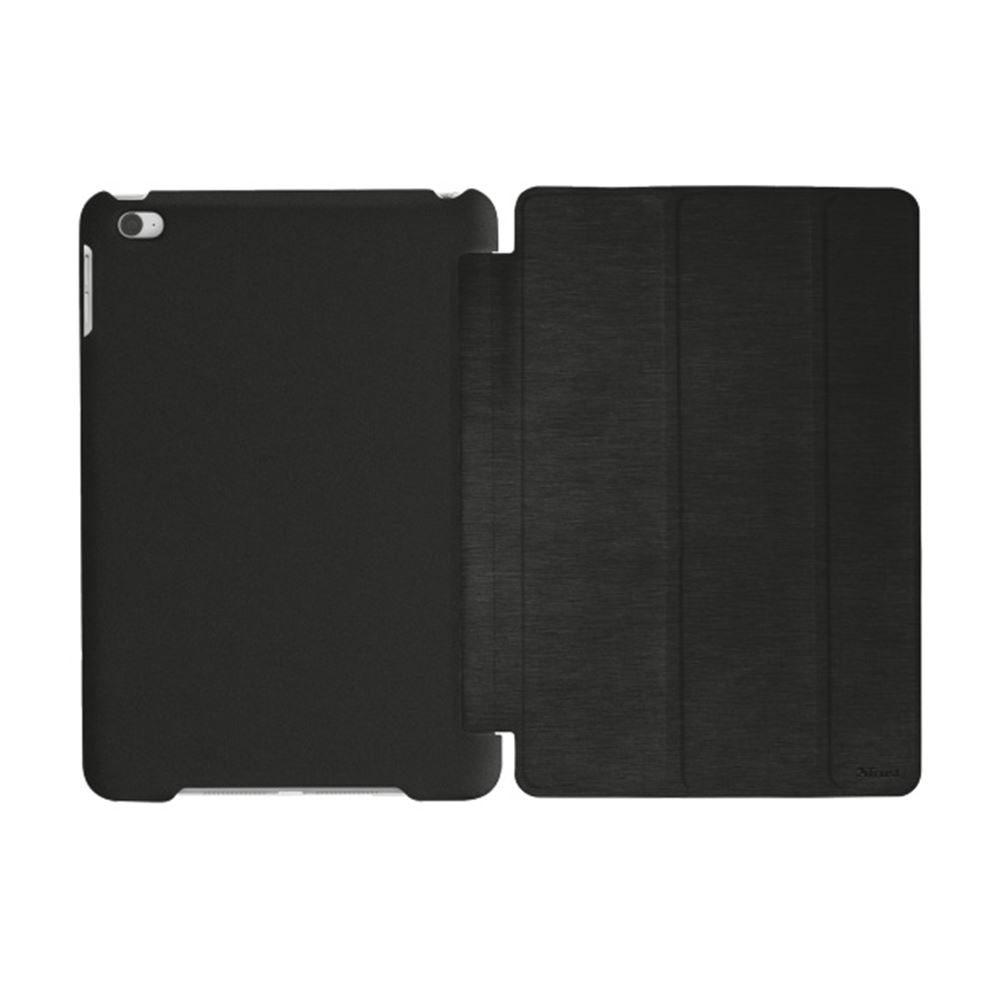 TRUST IPAD MİNİ 4 SMART CASE & STAND- (SİYAH)