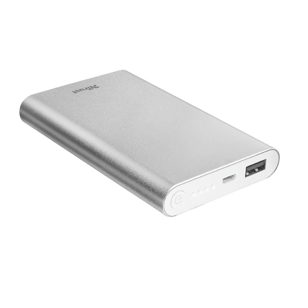 TRUST ULA THIN METAL POWERBANK 8000 MAH