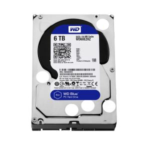 "WD Blue 3,5"" 6TB 64MB SATA III 6Gb/s 5400 RPM"