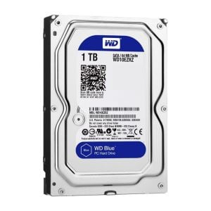 "WD Blue 3,5"" 1TB 64MB SATA III 6Gb/s 5400 RPM"