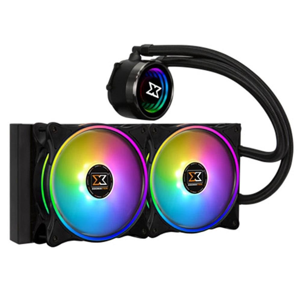 XIGMATEK AURORA 240 INTEL/AMD 2x120mm AT120 RAINBOW FAN CPU SIVI SOĞUTUCU