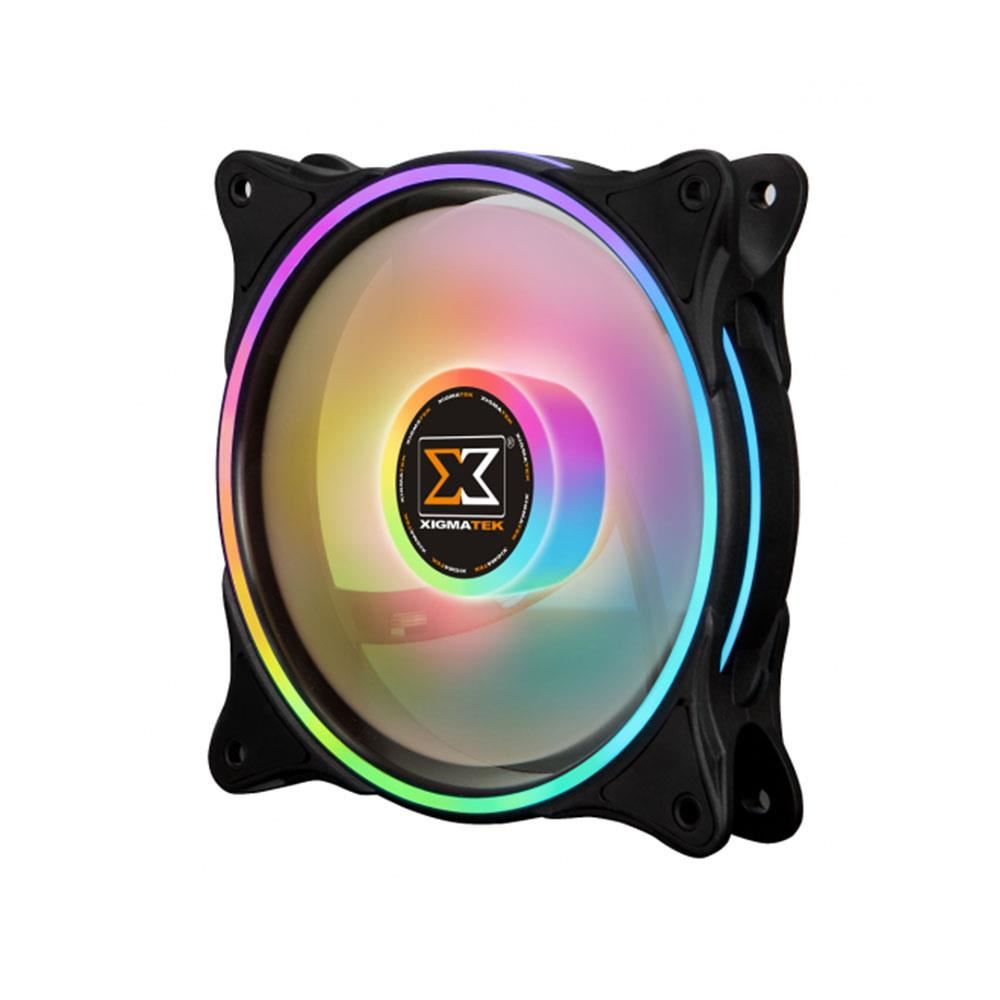 XIGMATEK GALAXY II PRO AT120 3x120mm ARGB FAN + KUMANDALI KASA FAN KİTİ