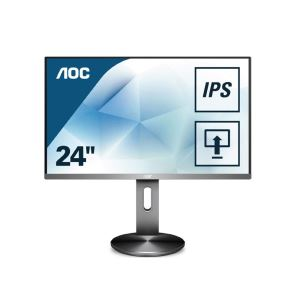 "AOC 23.8"" I2490PXQU/BT 4ms IPS HDMI+DP+VGA Full HD Pivot Monitör"