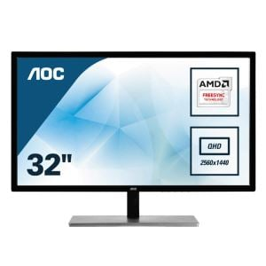 "AOC 31,5"" Q3279VWFD8 IPS 2K 5ms 75Hz 5ms FreeSync (VGA+HDMI+DP Port) Monitör"