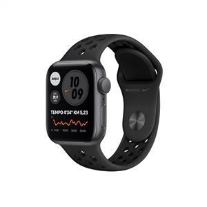 Apple Watch Nike SE GPS, 40mm Space Gray Aluminium Case with Anthracite/Black