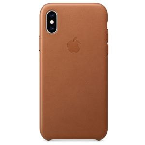 APPLE MRWP2ZM/A IPHONE XS DERİ KILIF- KLASİK KAHVE