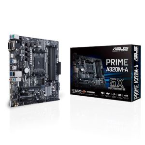 ASUS PRIME A320M-A A320 Socket AM4 AMD Ryzen™ DDR4 3200MHz M.2 Anakart