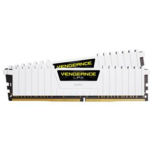 CORSAIR 16GB (2x8GB) Vengeance LPX Beyaz DDR4 3000MHz CL16 Dual Kit Ram
