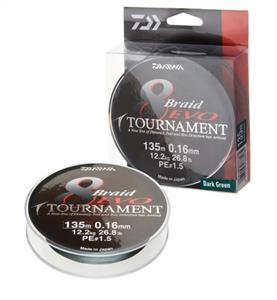 Daiwa Tournament 8B Evo 135mt 0,14mm Olta Misinası 12780014