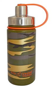 Eco Vessel Twist Triple Insulated Bottle With Screw Termos 0.40 Litre-0