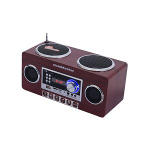 GOLDMASTER SR-128 BT  RETRO Bluetooth Radyo Speaker