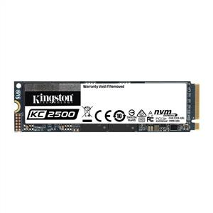 Kingston 500GB KC2500 M8 Serisi NVMe M.2 SSD (Okuma 3500MB / Yazma 2500MB)
