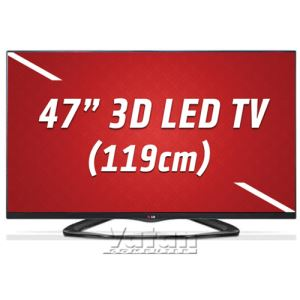 LG 47LA660S 119 cm CINEMA SMART 3D FULL HD LED TV, MCI 400 Hz,HDMI X3