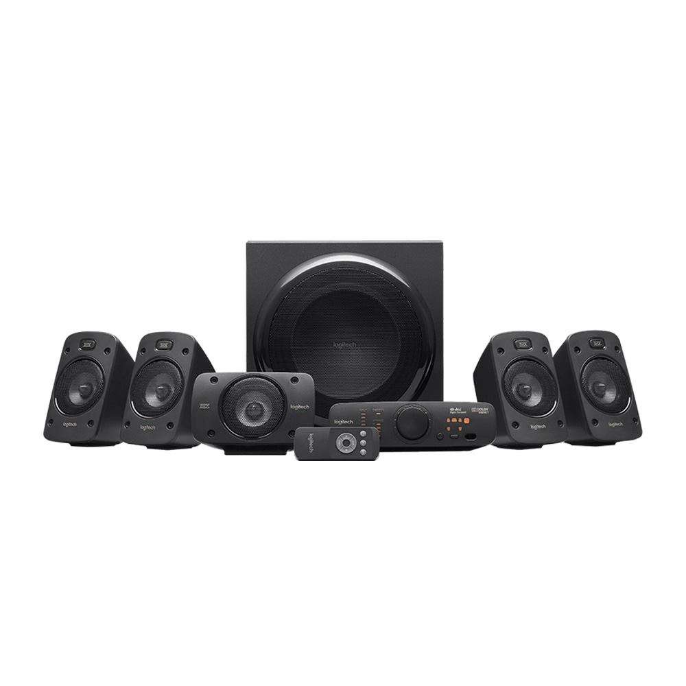 LOGITECH Z906 5.1 DTS DOLBY DIGITAL 2*OPTIK THX CINEMA SPEAKER - Vatan  Bilgisayar