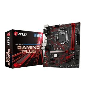 MSI B360M GAMING PLUS Intel B360 Soket 1151 DDR4 2666 M.2 Anakart