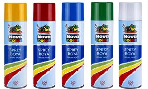 Nova Color Sprey Boya 200 ml. KIRMIZI GKT34