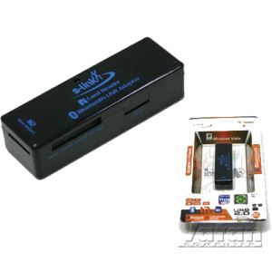 S-LINK SL-BC4043 USB EXT.CARD READER.+BLUETOOTH