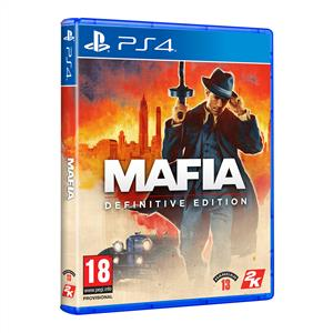 SONY PS4 Oyun: Mafia (Definitive Edition)