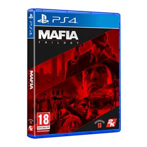 SONY PS4 Oyun: Mafia Trilogy
