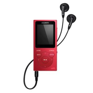 SONY NW-E394R 8GB MP3 PLAYER (KIRMIZI)