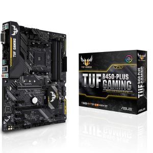 ASUS TUF B450-PLUS GAMING AMD B450 Soket AM4 Ryzen™ DDR4 4400MHz(OC) M.2 Anakart