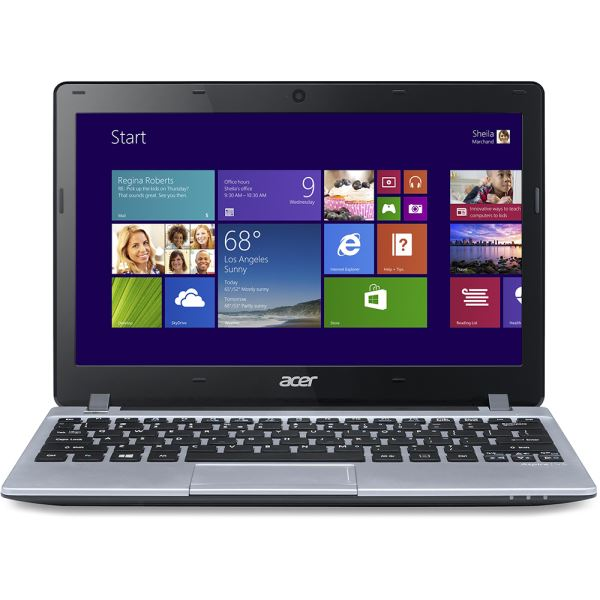 V5-123 NOTEBOOK AMD E1 1GHZ-4GB-500GB-11.6''-W8 NOTEBOOK BILGISAYAR