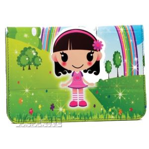 "IP-283 FLOWERS GIRL 10"" UNIVERSAL TABLET KILIFI - ÇİÇEKLİ KIZ"