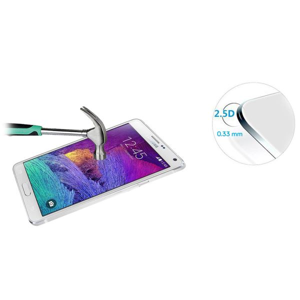 IP-770 TEMPERED GLASS GALAXY NOTE4 CAM EKRAN KORUYUCU