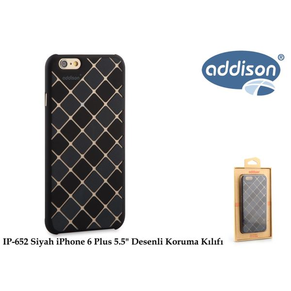 ADDİSON IP-652 SİYAH İPHONE 6 PLUS 5.5