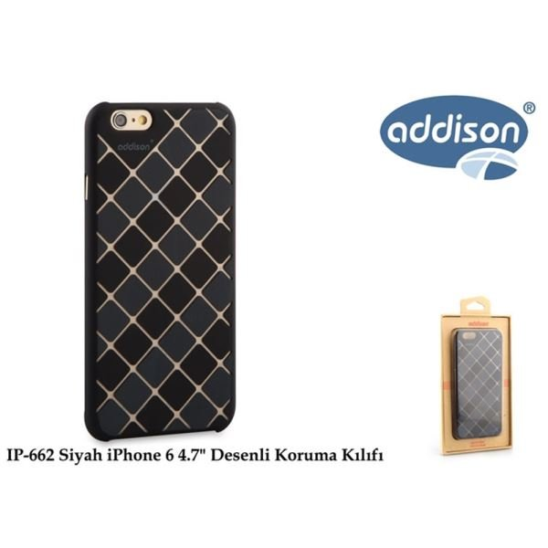 ADDİSON IP-662 SİYAH İPHONE 6 4.7