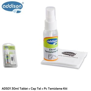 ADDISON ADS01 30ML TABLET+CEP TEL.+PC TEMİZLEME KİTİ