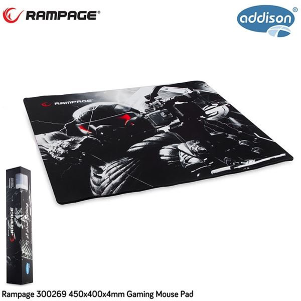 300269 ADDISON RAMPAGE OYUNCU MOUSE PAD 450X400X4MM