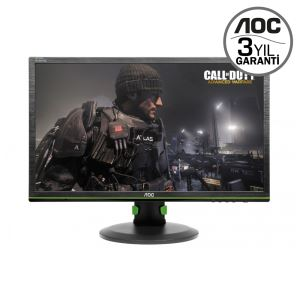 "AOC 24"" G2460PG 1ms 144Hz G-SYNC DPort USB 3.0 GAMING MONİTÖR"