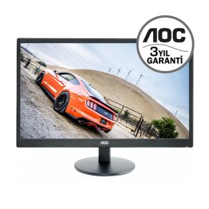 "AOC 21.5"" E2270SWHN 5 ms Full HD HDMI MONİTÖR"