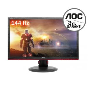 "AOC 24"" G2460PF 1ms 144Hz Full HD HDMI DVI VGA FreeSync GAMING MONİTÖR"