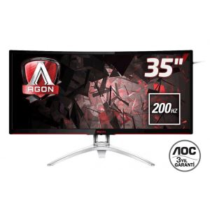 "AOC 35"" AGON AG352QCX 200Hz 4 ms UltraWide Curved Adaptive-Sync Gaming Monitör"