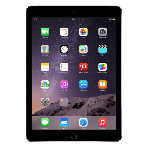 Ipad Air2-16GB WIFI-SpaceGrey-9.7''Retina-Bluetooth-10Saate KadarPil Ömrü437Gr