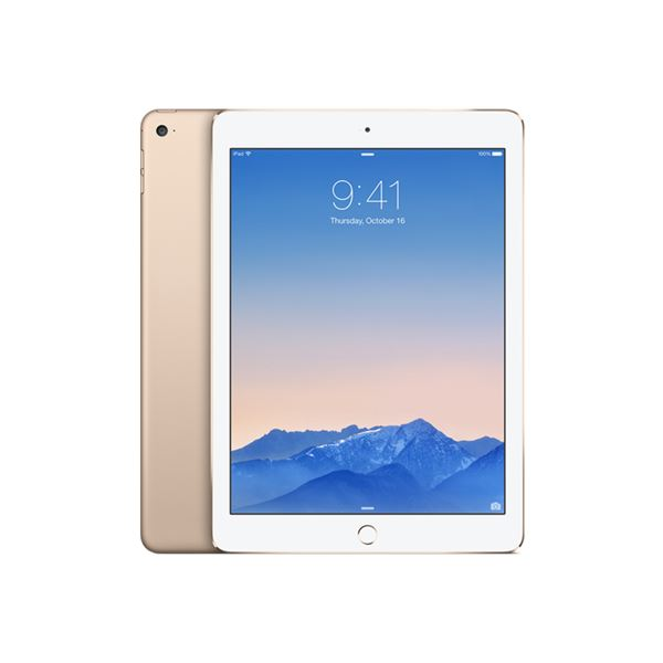 Ipad Air 2-64GB WIFI-Gold-9.7''Retina-Bluetooth-10Saate KadarPil Ömrü437Gr