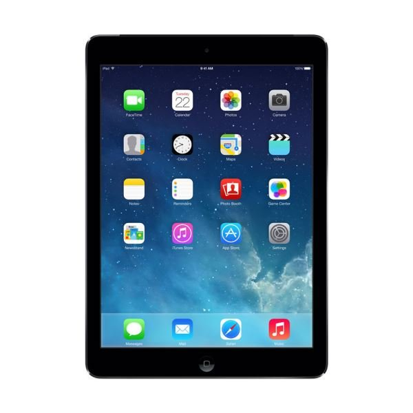 Ipad Air-16GB WIFI-UzayGri-9.7''Retina-Bluetooth-10 Saate Kadar Pil Ömrü-469Gr