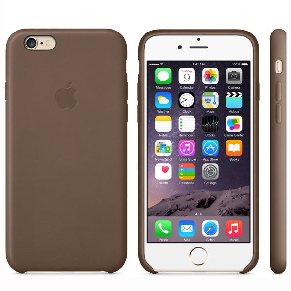 MGR22ZM/A IPHONE 6 LEATHER CASE- (KAHVE)
