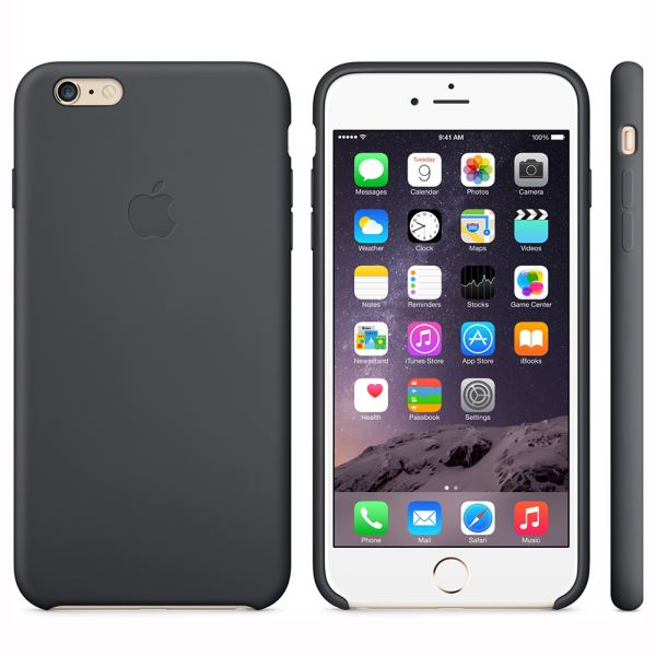 MGR92ZM/A IPHONE 6 PLUS SİLİCONE CASE- (SİYAH)