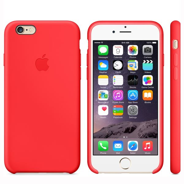 MGQH2ZM/A IPHONE 6 SİLİCONE CASE- (KIRMIZI)