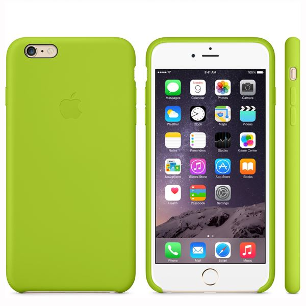 MGXU2ZM/A IPHONE 6 SİLİCONE CASE- (YEŞİL)